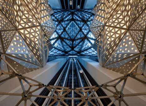 Flowing Organic Hotel Designs - 'Morpheus' is a New Luxury Hotel in Cotai, Macau