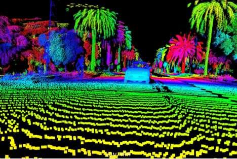 Laser-Based Vehicle Vision