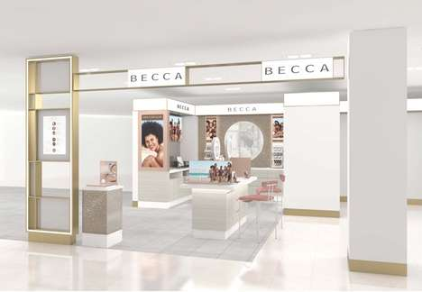 Glow-Boosting Cosmetic Bars - Becca Cosmetics Launched an In-Store 'Glow Bar' at John Lewis