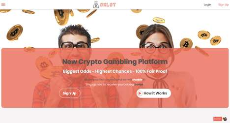 Crypto-Based Gambling Sites - 'Onlot' Rewards Players in Cryptocurrency