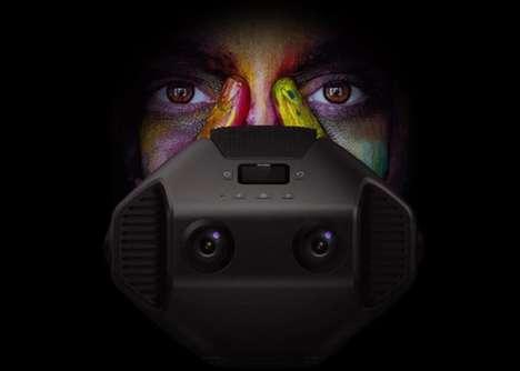 Immersive 8K VR Cameras
