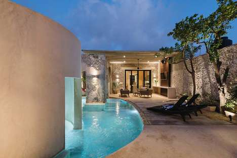Luxe Historic Vacation Rentals - The Casa Xolotl is a High-End Modern Rental Home in Merida