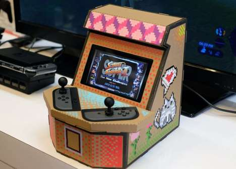Arcade Cabinet Console Holders