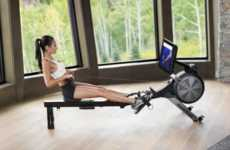Map-Embedded Rowing Machines