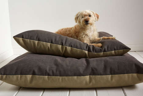 Stylish Modern Dog Beds - Parachute's Cotton Canvas Dog Beds are Made for Dogs of All Sizes