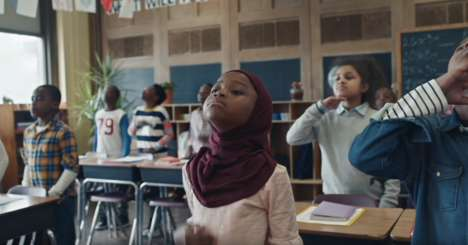 Motivational Classroom Ad Spots