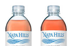 Wine-Inspired Water - Napa Hills' Vineyard Enriched Water Offers the Antioxidant Benefits of Wine