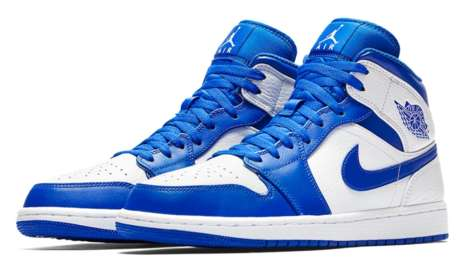Statement Royal Blue Sneakers
