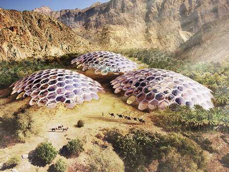 Sustainable Eco-Tourism Domes - The Biodomes Wildlife Conservation Center is in the Al Hajar Range