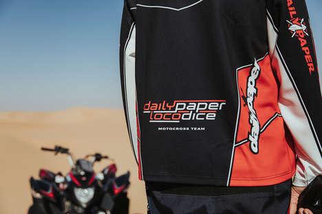 Motocross-Inspired Apparel