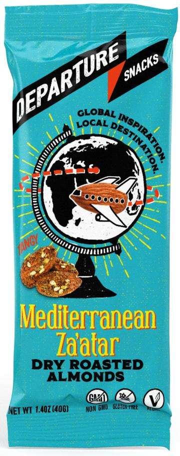 Globally Inspired Almond Snacks