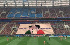 Boundary-Pushing Publicity Stunts - Björn Borg Shows Strong LGBTQ+ Support at the FIFA World Cup