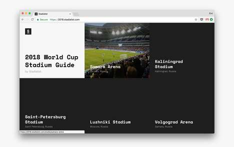 World Cup Stadium Guides