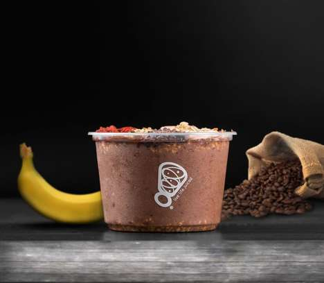 Caffeinated Acai Bowls - Juice It Up!'s Cold Brew Acai Bowl Can Serve as a Stand-In for Coffee