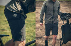 Rugged Urban Cyclist Shorts - The Mission Workshop Loch Shorts are Ready for Commuting or Sport