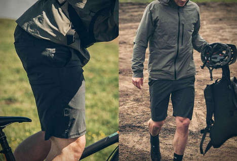 Rugged Urban Cyclist Shorts