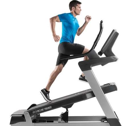 Mountain-Simulating Workout Machines