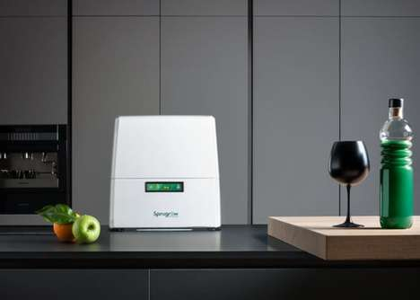 Automated Supplement-Growing Appliances - The 'Spirugrow' Lets Users Keep Fresh Nutrients on Hand