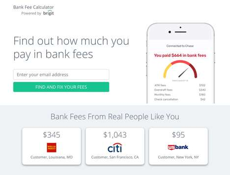 Bank Fee-Tracking Apps - 'MyHiddenFees' Helps Consumers Take Control of Their Finances