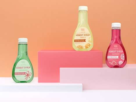 Transparent Clean-Label Syrups - ChocZero Honest Syrup is Made Without Sugar and Preservatives