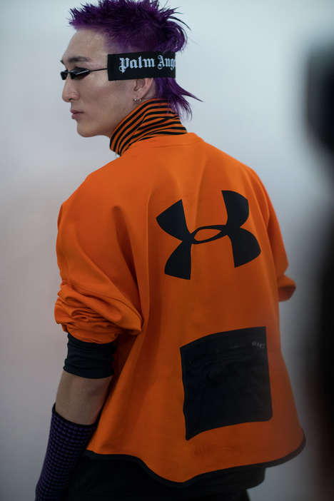 Skate-Inspired Technical Apparel - Palm Angels Joined Under Armour for the Recovery Collection