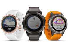 Altitude-Tracking Smartwatches - The Garmin Fenix 5 Plus Encourages Acclimation Awareness