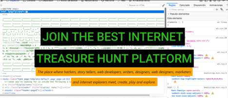 Internet Treasure Hunts
