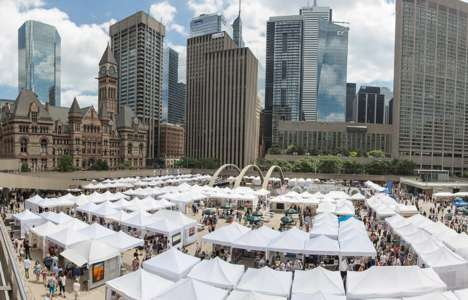 Interactive Community Art Fairs - The Toronto Outdoor Art Fair Offers Workshops, Live Music and More