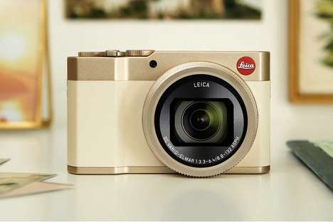 Elegant Long Zoom Cameras - The C-Lux Camera Boasts a Premium Design and Peak Performance