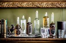 Laser-Etched Custom Decanters