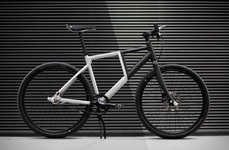 Practical Folding Urbanite Bikes - The Kruschhausen Cycles 'Fiiz' Collapses in Just 20 Seconds