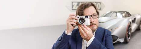 Automotive-Designed Cameras - The Leica Zagato Camera Blends German Engineering with Italian Style