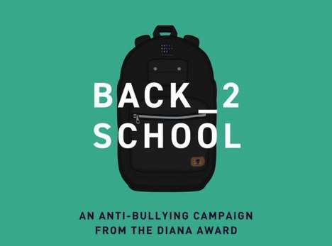 Anti-Bullying School Campaigns - The Diana Award Introduces the #Back2School Campaign