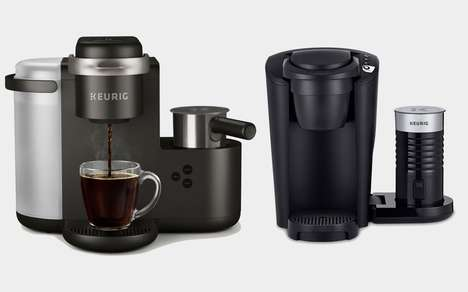 Cafe-Inspired Coffee Makers - These New Keurig Coffee Machines Create Barista-Quality Drinks