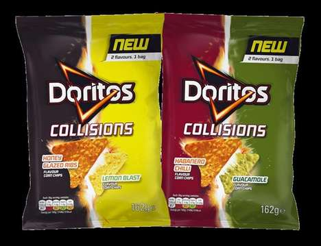 Savory Dual-Flavor Chips - The Doritos Collisions are Packed with Two Bold Flavors Per Bag