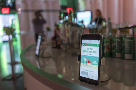 Soda Mixology Apps - 7UP's Digital Bartender App Shares Easy-to-Follow Drink Recipes
