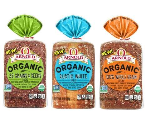 Clean Label Bread Collections - Bimbo Bakeries Has Launched Organic Versions of Its Best-Sellers