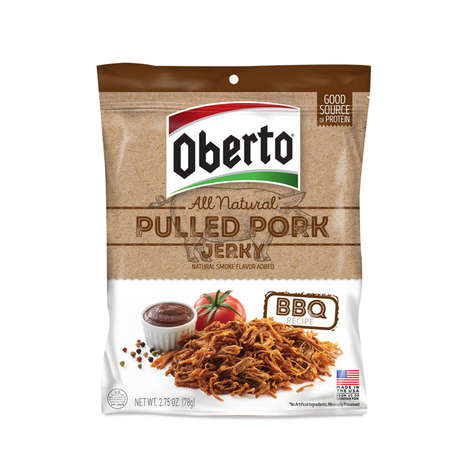 Snackable Pulled Pork Jerky