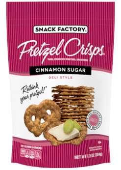 Cinnamon Sugar Pretzel Chips