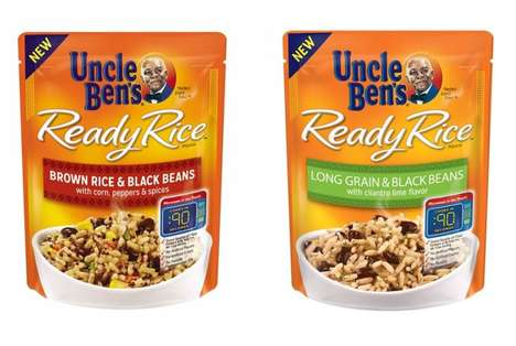Ready-to-Heat Rice Packs - Uncle Ben's Offers Three New Ready-to-Heat Rice and Pulses