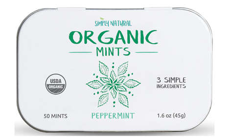 Free-From Organic Mints