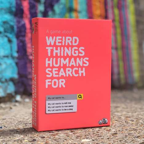 Internet Search-Themed Games - Big Potato's 'Weird Things Humans Search For' Looks at Web Searches