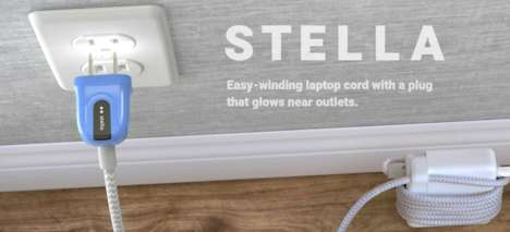 Illuminating Power Cords - The Ten One Stella Plug Lights Up to Avoid Shocks