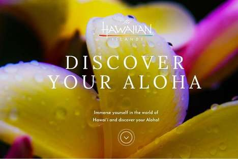 Wanderlust-Targeting Interactive Microsites - Hawaii Tourism Authority Uses a Multi-Media Approach