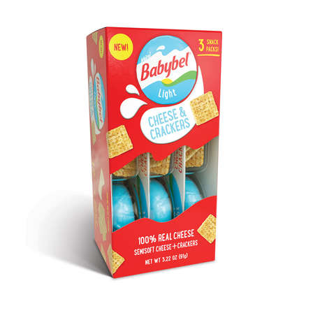 Real Cheese Snack Sets - Babybel Launched a Variety of Grab-and-Go Cheese and Cracker Kits