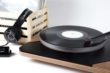 3D-Printed Turntables