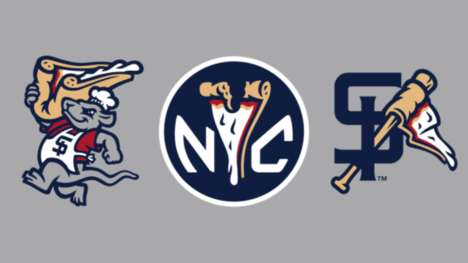 Meme-Inspired Minor League Logos