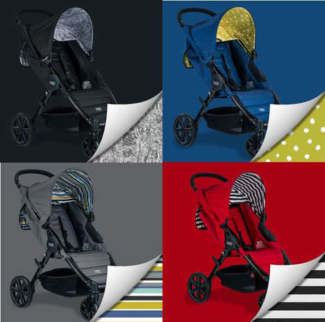 Fashionable Stroller Systems - The Pathway Stroller Delivers on Convenience, Safety and Style