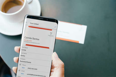 Business Card Scanning Features - Adobe Scan Can Now Save Business Card Information