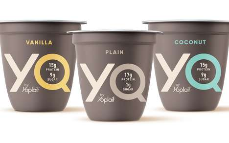 Lightly Sweetened Protein Yogurts - The YQ by Yoplait Yogurt Focuses on Consumer Feedback
